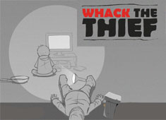 Whack The Thief game
