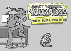 Whack Your Boss 2 Super Hero